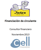 Intex, Financiación de circulante