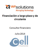 IAP Solutions, Financiación a largo plazo y de Circulante
