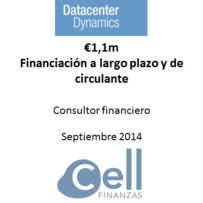 Datacenter Dynamics, Financiación a largo plazo y de circulante