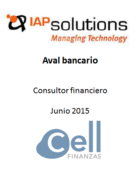 IAP Solutions, Aval bancario