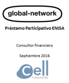 Global Network, Préstamo Participativo ENISA.